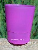 Кашпо для орхидеи «Матовое» фиолетового цвета