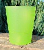 Кашпо для орхидеи «Матовое» салатового цвета