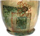 Набор высоких цветочных горшков «NICO» цвет 061