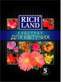 Субстрат для цветущих растений «Rich Land»