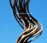 Бамбуковая опора в виде спирали