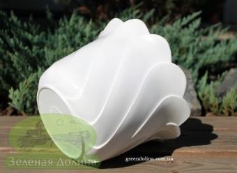 Вазон для цветов из пластика «Тюльпан»
