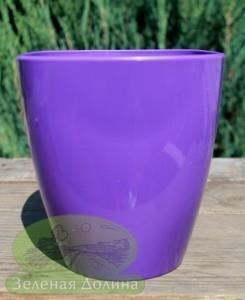 Цветные глянцевые кашпо для орхидей квадратной формы «Ага»