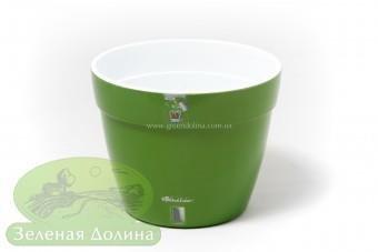 Пластмассовые горшки «Santino Asti» зелёное золото