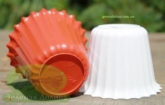 Пластиковый горшок для цветов «Люська»