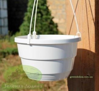 Подвесной вазон для петуний, сурфиний и других цветов