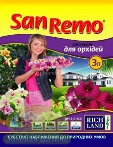 Грунт для орхидей субстрат «San Remo»