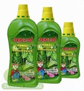 Удобрение «Agrecol» для комнатных цветов и декоративных растений