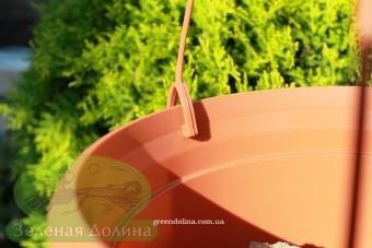 Подвесной горшок для цветов «Цегла висячая» - защёлка