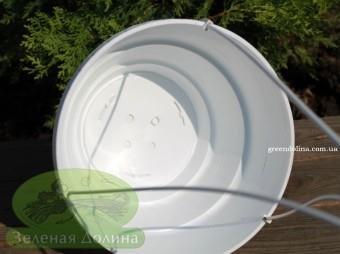 Висячий горшок для цветов и растений Plast