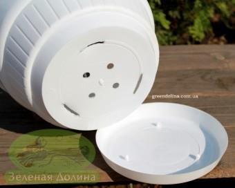 Подвесной вазон Plast - съёмное днище