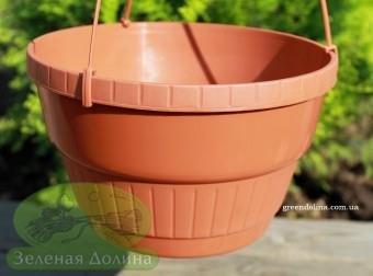 Подвесное кашпо для петунии и сурфинии Plast