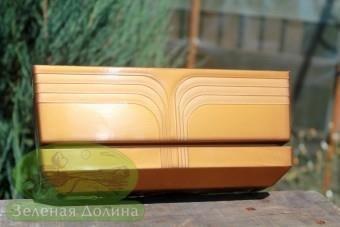 Вазон для кактусов «Кактусник Коррадо» золотого цвета