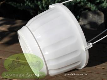 Подвесной вазон «Террак Висячий» - вид сбоку