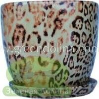 Набор высоких цветочных горшков «NICO» цвет 002