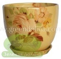 Набор высоких цветочных горшков «NICO» цвет 098