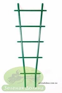 Усиленные пластмассовые лесенки для цветов зелёные