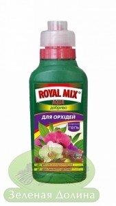 Минеральное удобрение для орхидей гель «Royal Mix Aqua»
