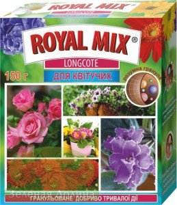Удобрение Royal Mix Longcote для цветущих растений
