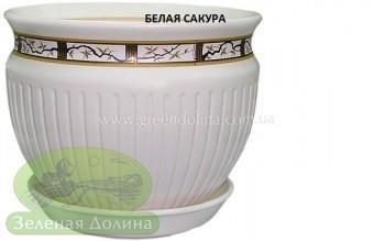 Керамический горшок для цветов «Антика»