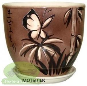 Горшок для цветов «Кедр» - модель «Мотылёк»