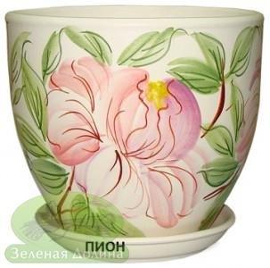 Горшок для цветов «Кедр» - модель «Пион»