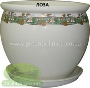 Горшок для цветов «Вьетнам» - модель «Золотая лоза»