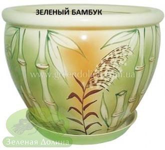 Горшок для цветов «Вьетнам» - модель «Зелёный бамбук»