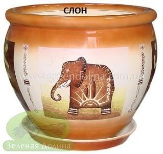 Горшок для цветов «Вьетнам» - модель «Слон»