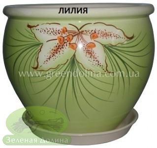 Горшок для цветов «Вьетнам» - модель «Лилия»
