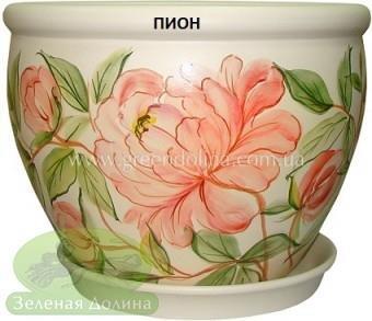 Горшок для цветов «Вьетнам» - модель «Пион»