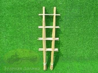 бамбуковая лесенка для цветов