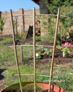 бамбуковая лесенка для плетущихся растений