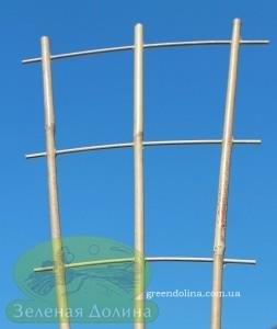 опора из бамбука для вьющихся и плетущихся цветов и растений