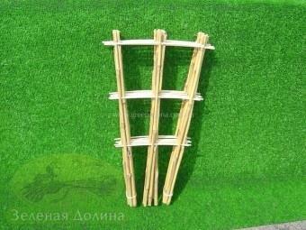 лесенка для цветов из бамбука