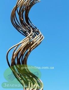 бамбуковая опора для вьющихся цветов и растений спираль
