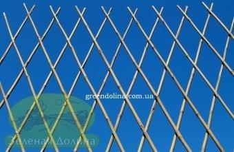 Бамбуковый забор декоративный