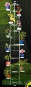 Большая вертикальная стойка для цветов